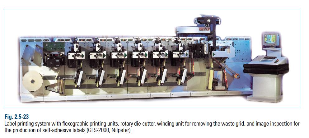 طراحی چاپ و تولید لیبل پشت چسب دار