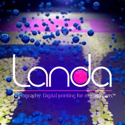 لوگوی لاندا - چاپ دیجیتال لاندا